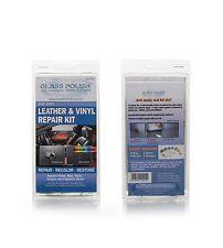 Cuir et vinyle kit de réparation, réparations trous, coupures, rips, burns, larmes air dry