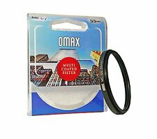 Omax 55mm MC UV Filter For Nikon D5300 With 18-55mm Lens (For AF-P Lens)