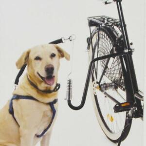Führhalter Abstandhalter Expander Fahrradhalter Fahrradleine Hund, Biker Set