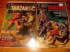Tarzan Gold Key #201 & #204