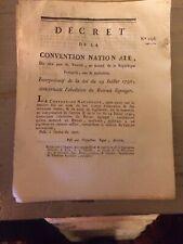 ABOLITION DU RETRAIT LIGNAGER. 1794.