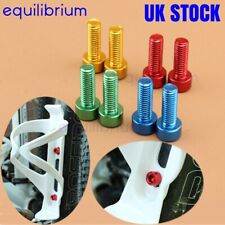 2x ALLOY WATER BOTTLE CAGE BOLTS SCREWS FOR ROAD MOUNTAIN BIKES PURPLE RED BLUE