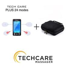 TechCare PLUS 24 MODES TENS UNIT + Hard Travel Carrying Case with Zipper