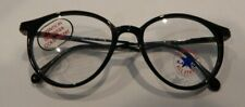 Vintage Converse by Rem Pepper Black 48/16 Eyeglass Frame New Old Stock #308