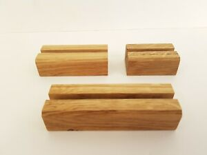 FusedGlass Tools & Supplies - Oak Stand for Fused Glass (6mm Slot)