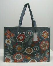 Vera Bradley Market Tote Reusable Shopping Bag In Tropical Evening NWT