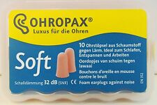 OHROPAX Soft weiche Ohrstöpsel 10 Stück PZN: 7437214