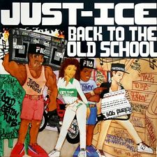 Just-Ice - Back To The Old School Vinyl LP REPRESS - NEW /SEALED Fresh Records