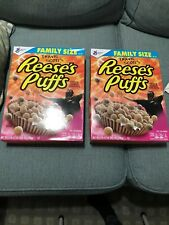 Reeses Puffs Travis Scott Cereal Cactus Jack Family Size Rare Limited Edition!