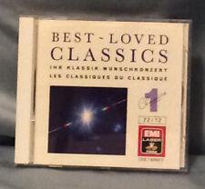 Best-Loved Classics, Vol. 1 (CD, EMI) Bach, Handel Mozart Hyden Schubert Chopin
