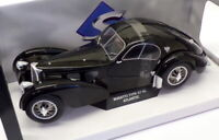 Solido 1/18 Scale Model Car S1802101 - Bugatti Type 57 SC Atlantic - Black