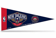 "New Orleans Pelicans NBA Mini Pennant  9""x4"" Made in USA banner flag"