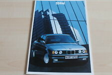121267) BMW 5er Reihe E34 524td Prospekt 02/1990
