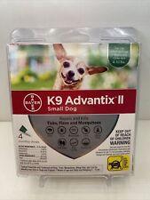 K9 Advantix Ii Flea &Tick Treatment for Small Dog 4-10 lbs, 4 Monthly Doses