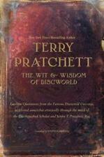 The Wit & Wisdom of Discworld by Terry Pratchett HC/DJ 1st Ed. unread unmarked