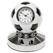 Miniature Drum Kit Novelty Silver 26 Gold Tone Finish Collectors Clock 0470