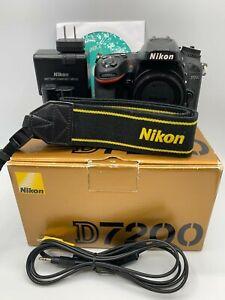 "NIKON D7200 ""Excellent""  Digital SLR Camera -  from Japan Free shipping 0712"