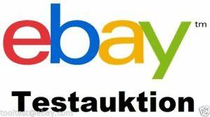 Test item - do not bid or buy! EU SX DE TS 01-20-2021