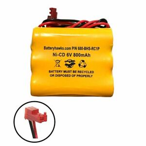 Special Price 6v 800mAh Ni-CD Battery Pack Replacement for Emergency / Exit Ligh