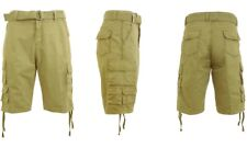 Galaxy by Harvic Mens Cargo Utility Shorts Khaki Size 38 FREE EXPEDITED SHIPPING