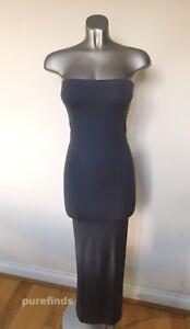 WOLFORD FATAL DRESS 50706, IN TAR, SIZE XS, UK 6-8, USA 4-6, BNWT