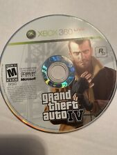Grand Theft Auto IV GTA 4 Disc Only Microsoft Xbox 360 Game Tested