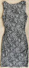 DIANE VON FURSTENBERG DVF RENE BLACK 100% SILK JERSEY DRESS $325 8