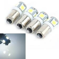5050 SMD 5 LED Auto Car Wedge Light Bulb Lamp New 10 x T11 12V BA9S Bright White