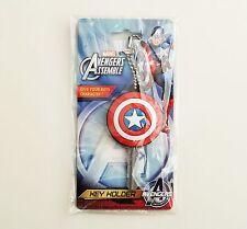 Marvel - Avengers - Captain America Sheild PVC Soft Touch Key Holder/Cover 68141