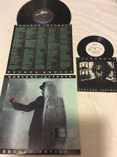 "Garland Jeffreys Lot Of 2 Vinyl LP & 7"" 45 Escape Artist 1981 EP Record Not CD"