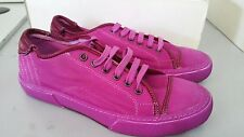 PANTOFOLA D'ORO SNEAKERS CANVAS TN46 FUXIA 41 ANEMONE FLUO UNISEX UOMO DONNA