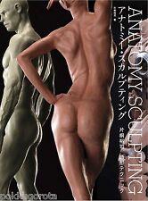 ANATOMY SCULPTING YUJI KATAGIRI modeling technique Japanese Art Book