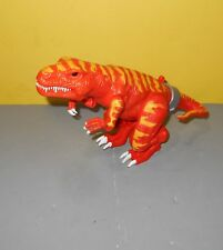 Electronic Roaring Allosaurus Dinosaur Orange & Red Flames Action Figure