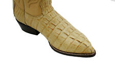 Men's Genuine Wild West Real Crocodile Western Cowboy Boots In Assorted Colors