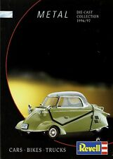 Revell Modellautos Metal Katalog 1996 1997 catalog model cars Modellautokatalog