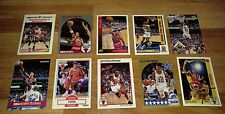 SCOTTIE PIPPEN BASKETBALL TRADING CARDS, LOT OF 10! RARE.