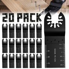 20pcs Oscillating Multi Tool Blades Saw Blades Wood Metal Cutter For Dewalt Fein