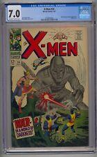 X-MEN #34 CGC 7.0 MOLE MAN & TYRANNUS APP