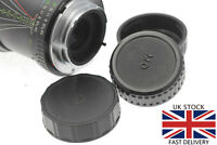 Rear Lens Dust Cap Cover - Minolta MD, MC fit Camera Lenses - Film SLR Lenses