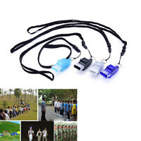 Dolphin shape Football Soccer Sports Referee Whistle Emergency Survival Kit uuPT