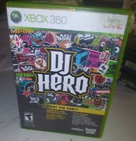 DJ Hero Microsoft Xbox 360 cib