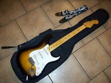 fender SQUIER CLASSIC VIBE STRATOCASTER, 2 COLOR SBURST,50s,+STRAP AND GIG BAG