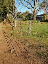 BACK ORDER 2000mm High Camp Oven Tripod - Blacksmith Forged Made in Australia