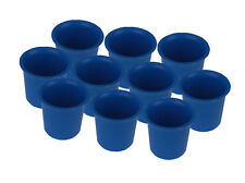 10 x Votive Candle Making Moulds, UK Made, Rigid Plastic, Craft. S7619
