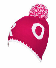 "Tag ROXY Ladies Girls One Size Fits Most Beanie Cap Hat ""berry"" Pink"