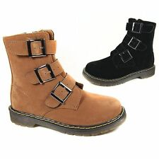Unbranded Buckle Ankle Boots for Women