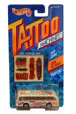 1993 Hot Wheels Tattoo Machines Bus Boys