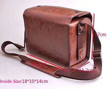 Digital Camera PU Leather Case For Leica T/M/S V-LUX4 Leica X-Vario Shoulder Bag