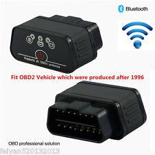 Black OBDII OBD2 Diagnostic Scanner Wifi Bluetooth ELM327 Car Diagnostics Tool