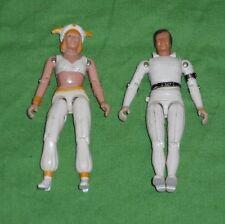 "vintage Buck Rogers BUCK & ARDELLA 3 3/4"" action figure lot"